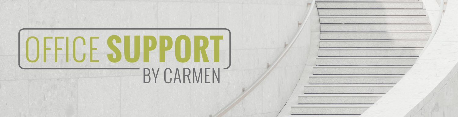 Office Support by Carmen